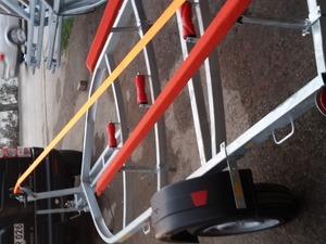 Joker bot taşıma römorku roller römork imalatı yan dayamalı model tekne römorku Aysan Römork Sanayii