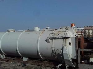 vidanjör kanal açma tankı 18 ton