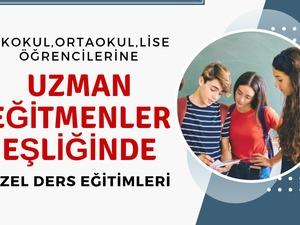 İstanbul'da Çok Uygun Fiyata Matematik,İngilizce,Türkçe,Fizik Özel Ders