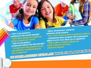 konya ilkokul ve ortaokul ödev desteği. etüt merkezi, çocuk kulübü Fark Akademi