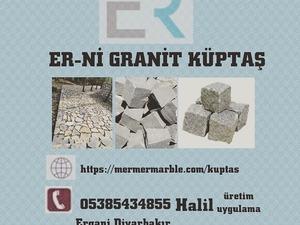 Aydın granit küptaş bazalt küptaş uygulama ekibi Halil